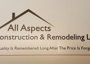 All Aspects Construction & Remodeling LLC