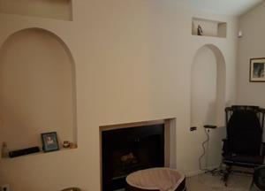 Bill B. Fireplace Mantle
